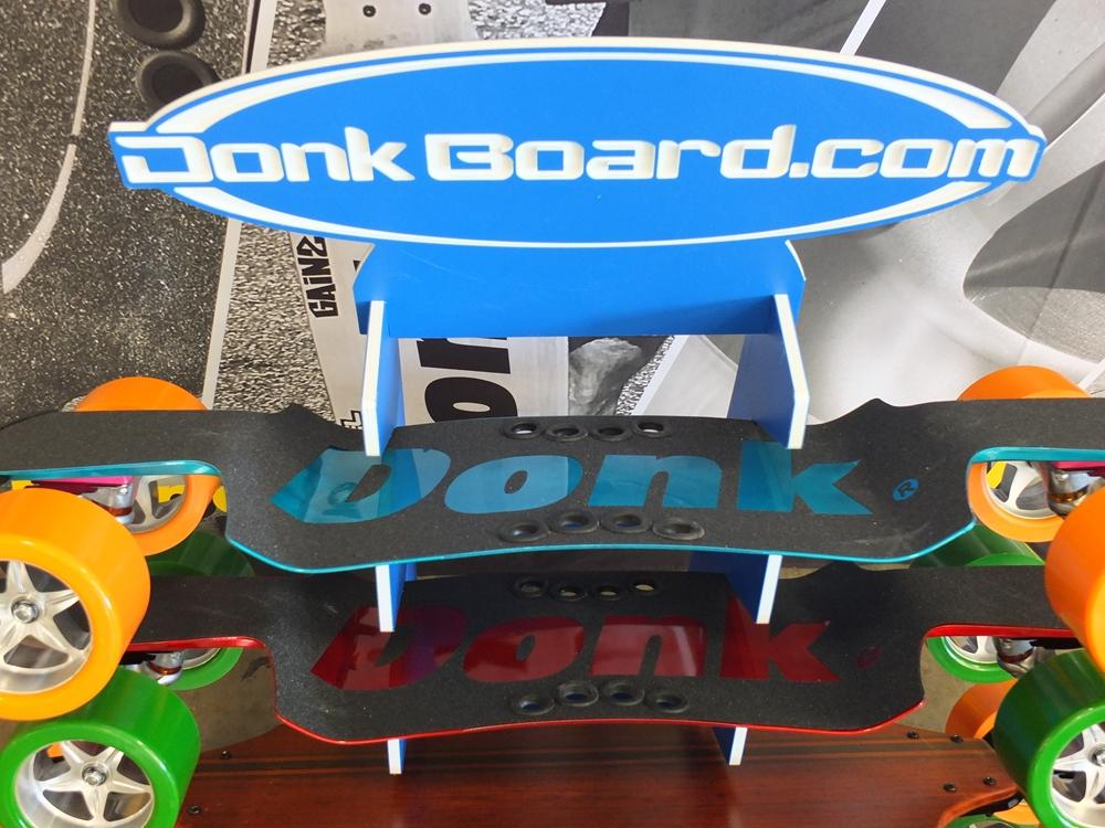 Aluminum DonkBoard w/ Easy Carry Finger Holes & Aluminum Landpaddle Pole